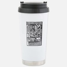 Printing press, 16th ce Stainless Steel Travel Mug