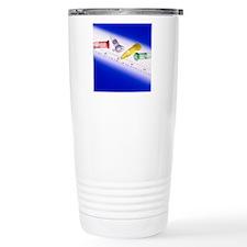 DNA analysis Travel Mug