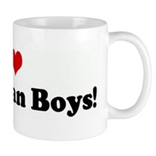 I Love Bahamian Boys! Mug