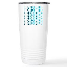 DNA autoradiogram Travel Mug