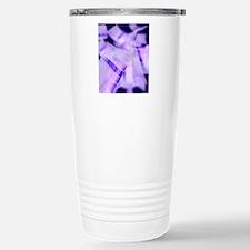 DNA electrophoresis gel Stainless Steel Travel Mug