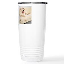 Portrait of Labrador Re Travel Mug