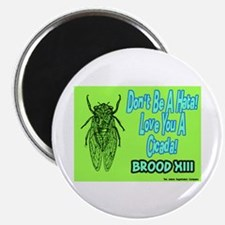 "Don't Be A Hata Love You A Cicada 2.25"" Magnet (10"