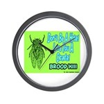 Don't Be A Hata Love You A Cicada Wall Clock
