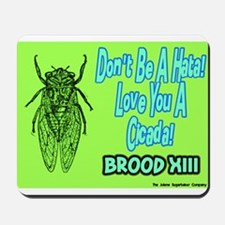 Don't Be A Hata Love You A Cicada Mousepad