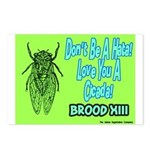 Don't Be A Hata Love You A Cicada Postcards (Packa