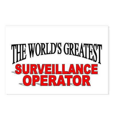 """The World's Greatest Surveillance Operator"" Postc"