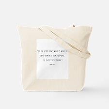 Tetramorph Tote Bag