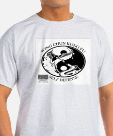 Wing Chun Kung Fu Snake And Crane Logo T-Shirt