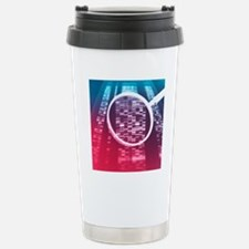 DNA sequencing Stainless Steel Travel Mug