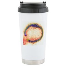 Ebola virus particles,  Travel Mug