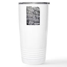 Enlarged fingerprint Travel Coffee Mug
