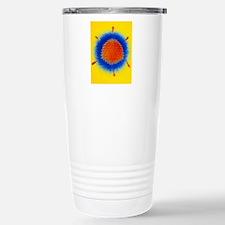 False-colour TEM of an  Travel Mug