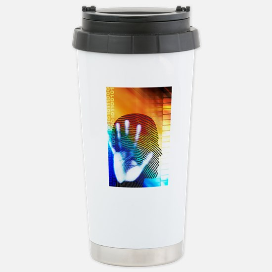 Forensic science Stainless Steel Travel Mug