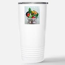Fruit and vegetables Stainless Steel Travel Mug