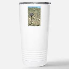 Area 51 UFO site Stainless Steel Travel Mug