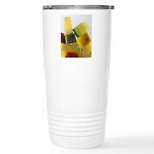 Fruit squares Travel Coffee Mug