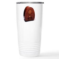 Bakelite radio Travel Coffee Mug