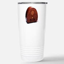 Bakelite radio Travel Mug