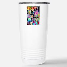 Assortment of coloured  Stainless Steel Travel Mug
