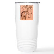 Artwork showing a vasec Travel Mug