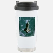 Space shuttle Challenge Stainless Steel Travel Mug