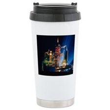 Space shuttle on launch Travel Mug