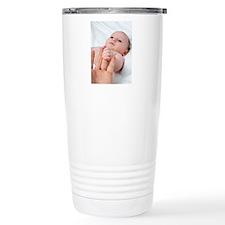 Baby's hand Travel Coffee Mug