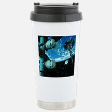 Space stations Stainless Steel Travel Mug