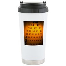 Blurred view of a Snell Travel Mug