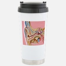 Cochlear implant, artwo Travel Mug