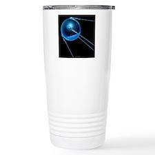 Sputnik 1 satellite Travel Mug
