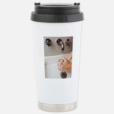 Cleaning hands Stainless Steel Travel Mug