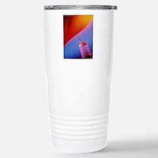 Close-up of an injectio Travel Mug