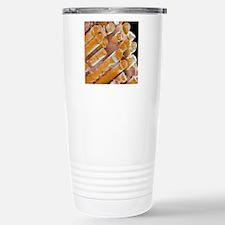 Coloured SEM of a glass Travel Mug