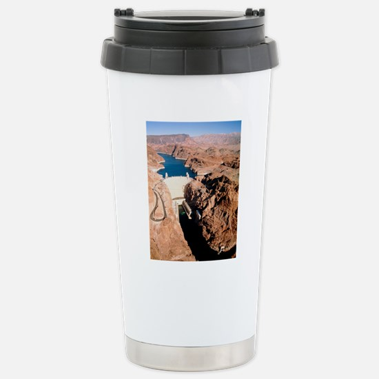 The Hoover Dam, Colorad Stainless Steel Travel Mug