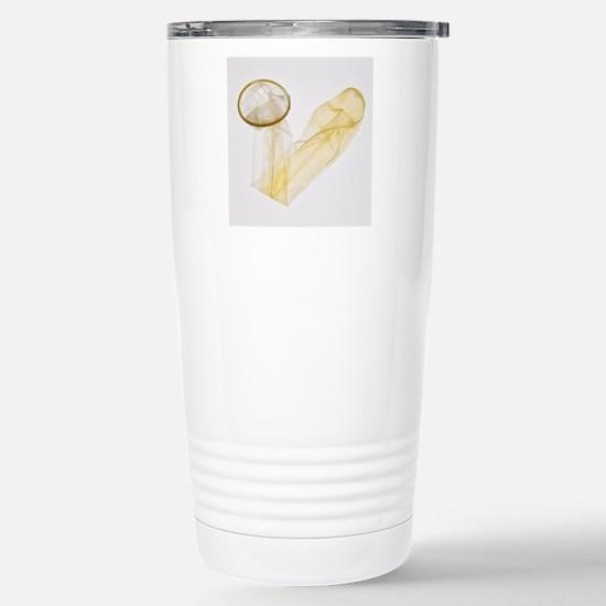 Condom Stainless Steel Travel Mug