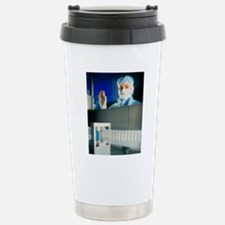 Technician monitoring s Travel Mug