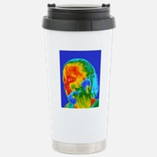 Telephone thermogram Stainless Steel Travel Mug