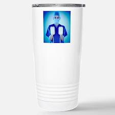 Defibrillator Stainless Steel Travel Mug