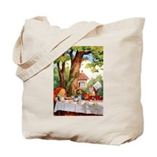 The Mad Hatter's Tea Party Tote Bag