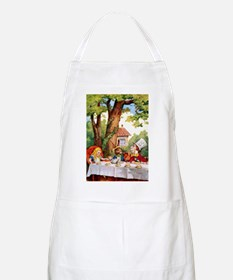 The Mad Hatter's Tea Party Apron