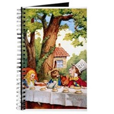 The Mad Hatter's Tea Party Journal