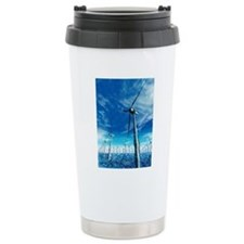 Wind power, artwork Travel Mug