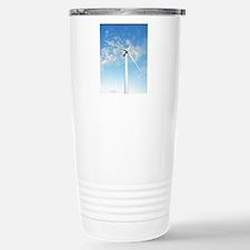 Wind turbine, Denmark Travel Mug