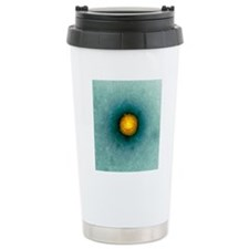 Herpes virus particle,  Travel Mug