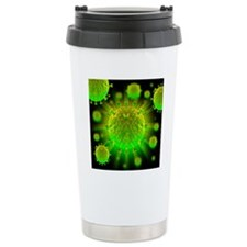 HIV particles Travel Mug