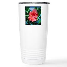 Caribbean flower Travel Coffee Mug