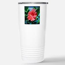 Caribbean flower Travel Mug