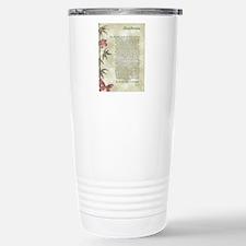 DESIDERATA  Stainless Steel Travel Mug